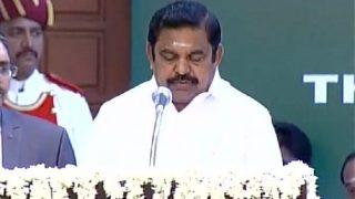 Edappadi Palanisamy, Sasikala's nominee, takes oath as Tamil Nadu chief minister