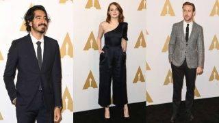 Oscars 2017: Emma Stone, Ryan Gosling, Dev Patel, Nicole Kidman sparkle at the Oscar Nominees Luncheon!