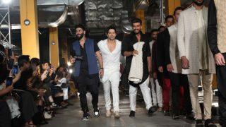 Lakme Fashion Week 2017 Day 1: Varun Dhawan, Arjun Kapoor, Sonakshi Sinha and Tamannaah Bhatia are spectacular showstoppers! (In Pics)