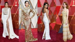 Oscars 2017: Priyanka Chopra, Emma Stone, Jessica Biel wore the hottest nude and metallic outfits at the 89th annual Academy Awards 2017!