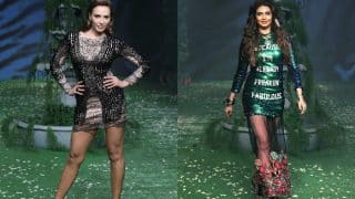 Woah! Iulia Vantur and Karishma Tanna scorch the ramp at Lakme Fashion Week 2017!
