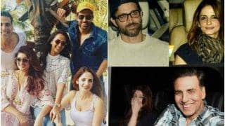 Are Hrithik Roshan-Sussanne Khan already BACK together? These pics with Akshay Kumar-Twinkle Khanna have got us suspicious!