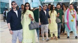 Neil Nitin Mukesh-Rukmini Sahay's FIRST pic after wedding out! The newly weds are back from Udaipur (see ALL pics)