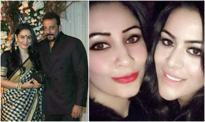 Image result for Manyata Dutt shares a healthy relationship with Sanjay Dutt's daughter Trishala from his first wife