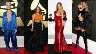 Hottest Grammys 2017 stars: Beyonce, Rihanna, Lady Gaga and others who turned up in sexiest red carpet outfits at Grammys 2017! View pics
