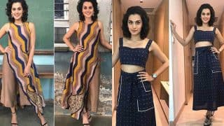 Running Shaadi star Taapsee Pannu is nailing the style game like a pro! Here's proof