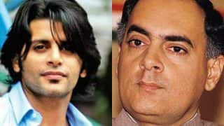 Television heartthrob Karanvir Bohra to play Rajiv Gandhi in a short film based on the ex PM's love story
