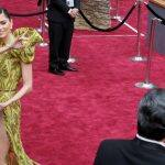Oops! Actress Blanca Blanco suffers wardrobe malfunction at the Academy Awards 2017!