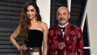 Deepika Padukone nailed the Vanity Fair Oscar after party look in this dazzling outfit!