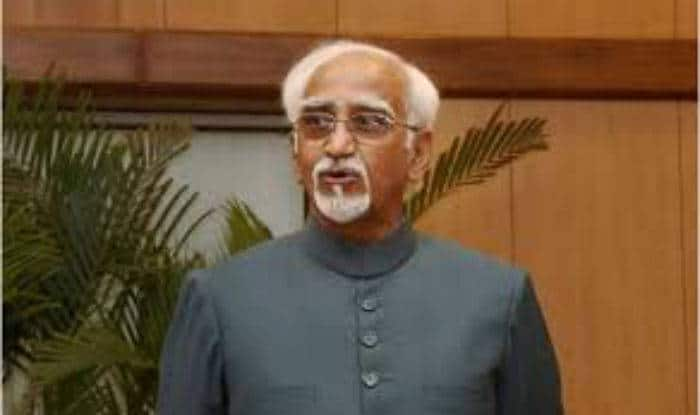 Why can't Hamid Ansari speak as vice-president, and not just a Muslim?