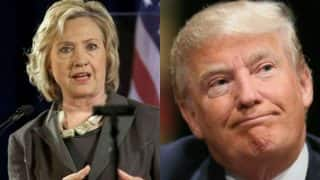 Hillary Clinton calls on Donald Trump to speak up on Kansas shooting