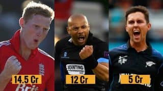VIVO IPL 2017 List of Most Expensive Players: Ben Stokes, Tymal Mills among the highest paid players in IPL 10 Auction
