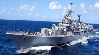 Navy successfully test fires surface-to-air missile