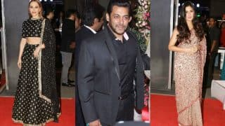 Did Iulia Vantur deliberately IGNORE Salman Khan's ex-Katrina Kaif at Neil Nitin Mukesh's wedding reception? Watch Video