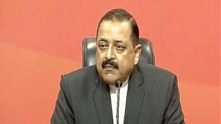 Jitendra Singh Questions Kashmiri Leaders' Silence Over Killing of Army Jawan, Says They Can't Even go to Toilet Without Hurriyat's Permission