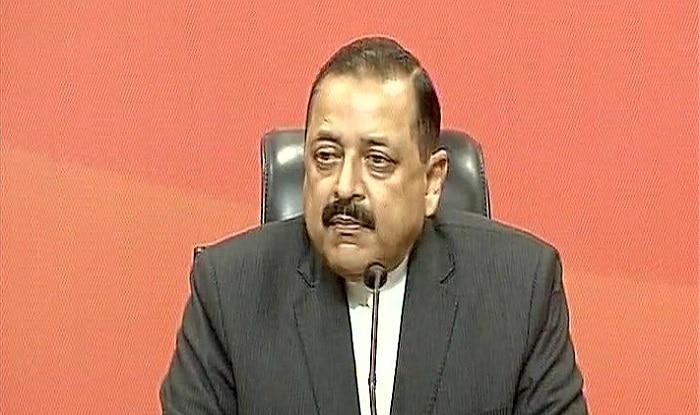 MoS PMO Jitendra Singh