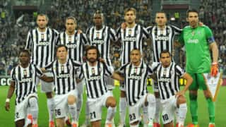 Serie A leaders Juventus canter to 4-1 win over Palermo