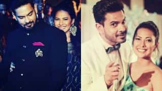 Former Bigg Boss contestants Rochelle Rao & Keith Sequeira exchange rings on Valentines Day!