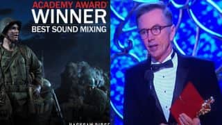 89th Academy Awards: Kevin O'Connell wins his FIRST Oscar, bags Best Sound Mixing trophy for Hacksaw Ridge