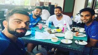 Virat Kohli enjoys breakfast with KL Rahul, Jayant Yadav & Hardik Pandya ahead of India vs Bangladesh Test
