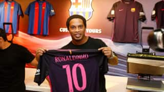 Ronaldinho turns down Coritiba offer