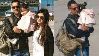 MS Dhoni and daughter Ziva look supercute as wife Sakshi shares new family pictures on Instagram!