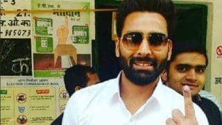UP Elections 2017: Bigg Boss 10 winner Manveer Gurjar steps out to cast vote in Noida (see picture)