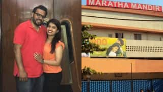 On Valentine's Day, a Bangalore-based man booked Maratha Mandir theatre to watch DDLJ with his fiancee!