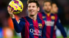 Lionel Messi is one win away from his 400th for Barcelona