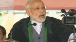 Narendra Modi Imphal rally: Prime Minister slams Congress for not bringing peace to Manipur; Key Highlights