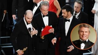 Revealed! The man behind the La La Land - Moonlight gaffe at the Oscars 2017