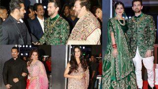 Celebs galore at Neil Nitin Mukesh-Rukmini Sahay's lavish wedding reception