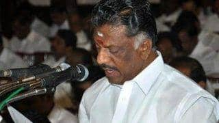 O Panneerselvam to meet President Pranab Mukherjee today, seek probe into Jayalalithaa's death