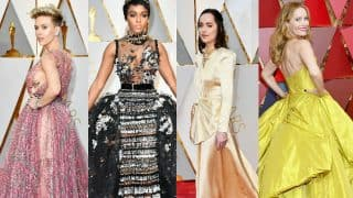 Oscars 2017 Red Carpet: Scarlett Johansson, Ginnifer Goodwin, Dakota Johnson and Janelle Monae are style offenders!