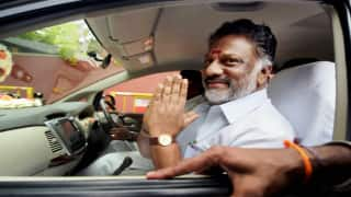 O Panneerselvam to embark on long march across Tamil Nadu against E Palaniswami govt