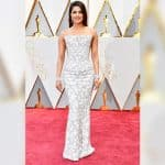Oscars 2017: Priyanka Chopra walks the red carpet wearing a white Ralph and Russo gown, do you like her look?