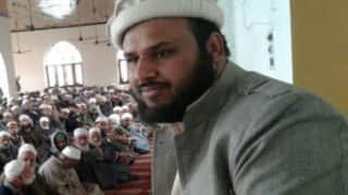 Qazi Yasir detained along with his supporters
