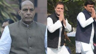 Uttar Pradesh Assembly Elections 2017: Rajnath Singh admits BJP could have won 300 seats in absence of SP-Congress alliance