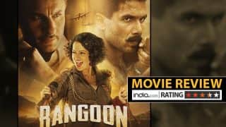 Rangoon movie review: Watch out for the bloody brilliant performances of Shahid Kapoor, Kangana Ranaut and Saif Ali Khan