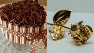 Rose Day 2017 Gift Ideas for Him & Her: Chocolate roses, cupcakes and special presents for your Valentine!