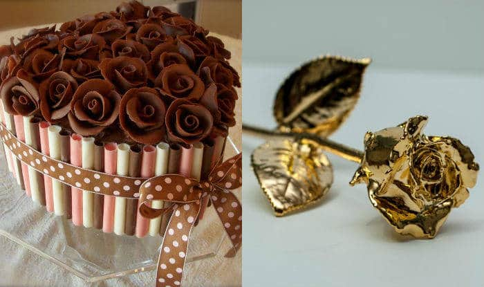 rose day 2017 gift ideas for him her chocolate roses cupcakes