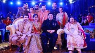 Neil Nitin Mukesh and Rukmini Sahay's destination wedding: Watch Rishi Kapoor singing at the couple's sangeet ceremony