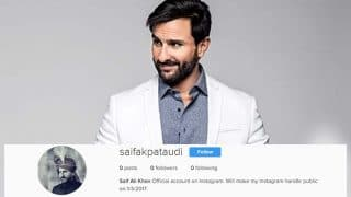 Saif Ali Khan takes a U-turn, to finally join social media?