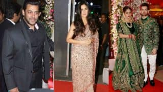 Replug: Did Salman Khan & Katrina Kaif steal all limelight at Neil Nitin Mukesh & Rukmini Sahay wedding reception?