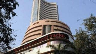 Sensex edges up in see-saw trade ahead of macro data
