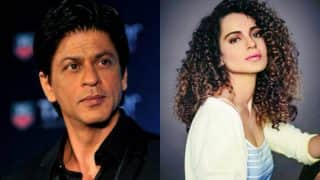 Shah Rukh Khan denies reports of him turning down film with Kangana Ranaut