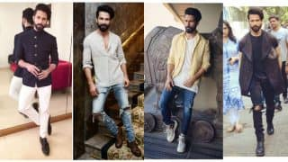 Rangoon promotions: Shahid Kapoor's Top 9 suave style moves that we love!