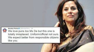Get some aloe! Because Shobhaa De just got burnt by the Mumbai police