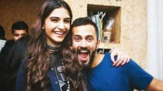 Sonam Kapoor and boyfriend Anand Ahuja are total goofballs in LOVE (watch video)