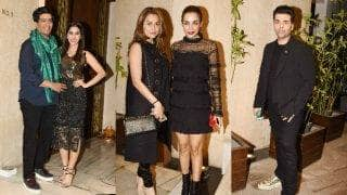 Sophie Choudry's birthday bash by Manish Malhotra is a black and golden affair to remember!